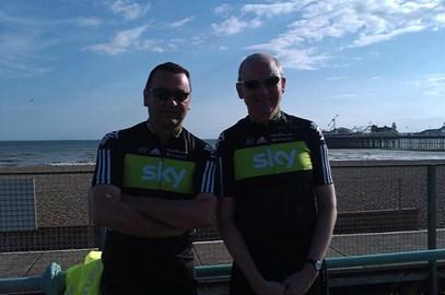 Brighton - Me & Benno