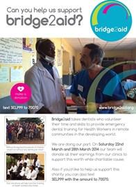 Adams Dental Clinics in support of Bridge2aid