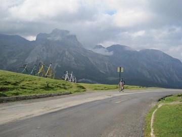 Over 1st biggy, Col d'Aubisque 09/2009