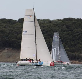 Fortissimo sailing in the Fastnet