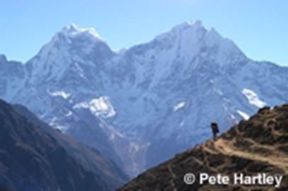 On the Everest Marathon course