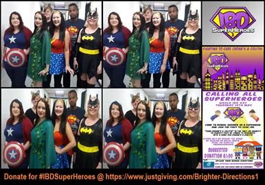 superheroe dress up for #worldibdday