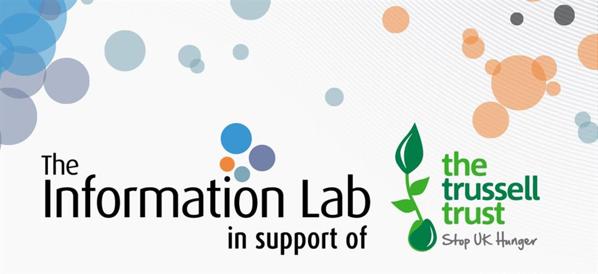 The Information Lab is fundraising for The Trussell Trust