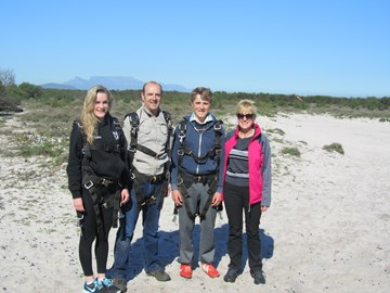 Sky Dive South Africa August 2014
