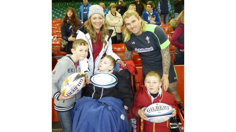 richard hibbard...just hanging out with my boys