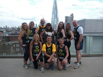 The Now half marathon team 2012