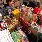 2018 Christmas Hamper packing