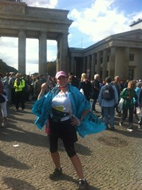 Berlin 2012 at the finish...;-).