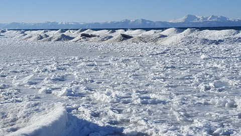 FROZEN WAVES!!