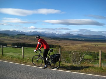 In the Cairngorms on the End to End