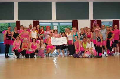 Zumba Charity Class 9th August 2013