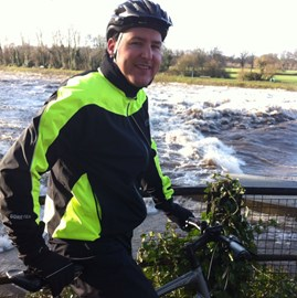 Me at Blackweir on Taff Trail.