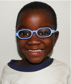 Mwemba with his spectacles