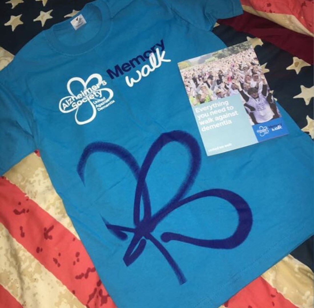 Jacie Jago Is Fundraising For Alzheimers Society Shirt