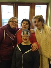 The Team: Camilla, Lauren, Paris and Polly