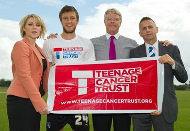 Robbie Cowling with TCT representatives