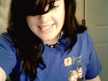 Rockin the SpecialEffect tee :)