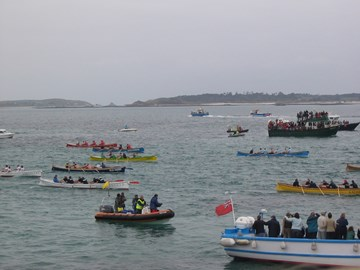 Pilot Gig racing Isles of Scilly