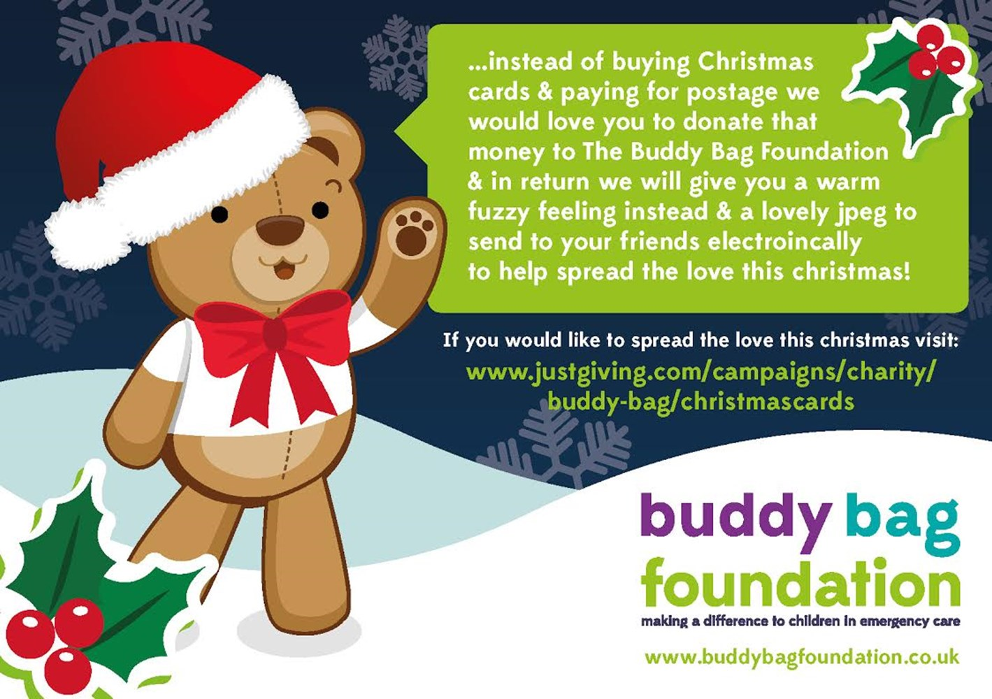 Christmas Cards - JustGiving