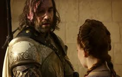 Sandor is telling Sansa about this great cause!