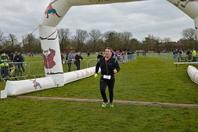 Finish Line at Hampton Court