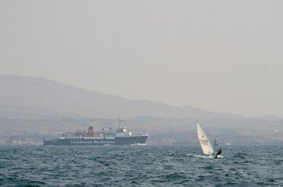 Leaving Port Ellen