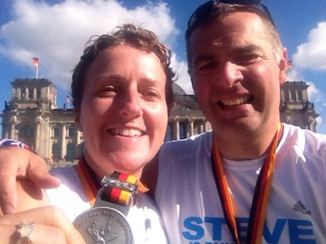 Berlin Marathon Finish!