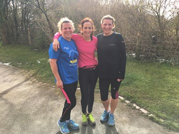 10 miles, 6 bad boy hills & we are all still smiling 
