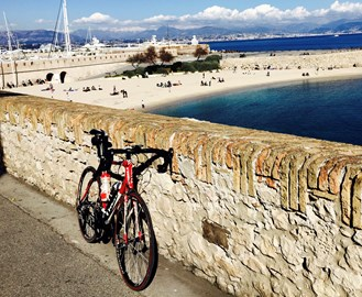 Did a couple of big training rides in France last week and about 100 miles of rides in the UK this week - getting fitter!