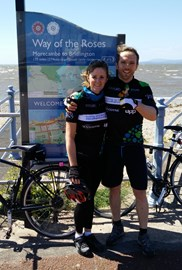Way of the Roses - Morecambe - The End!