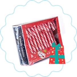1 of 10 Super sweet Christmas candy canes