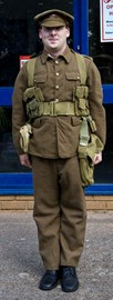 First photo of my WW1 Uniform for the Challenge.