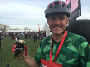 Success! 75 miles off road London to Brighton in 2016