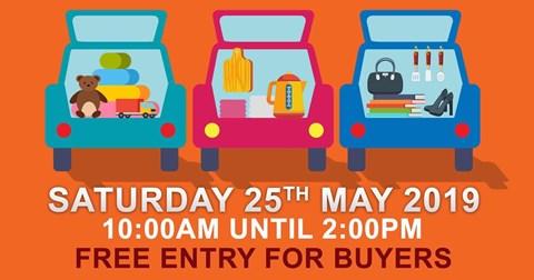 Car boot 25th May at New Earswick and District Bowl Club