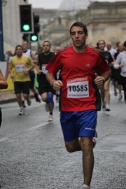 Running a half marathon in 2009