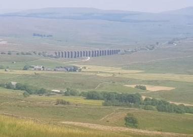 Ribblehead Viaduct from afar
