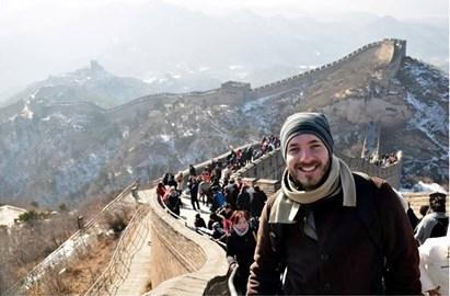 Visiting Chinese Wall!
