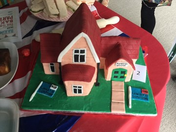 Winning entry in our Bake Off competition