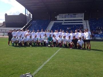 Charity football match August 2014