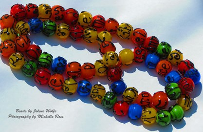 Special colourful beads for BoC