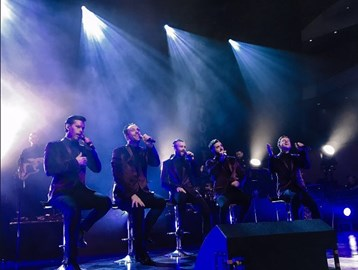 The Overtones doing what we do
