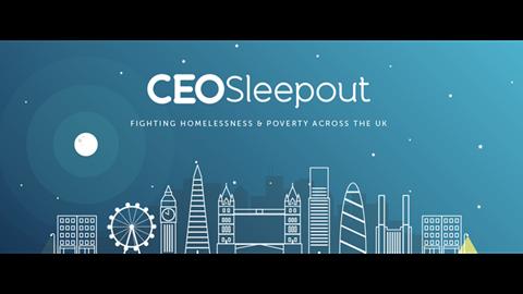 Precept's CEO Sleepout