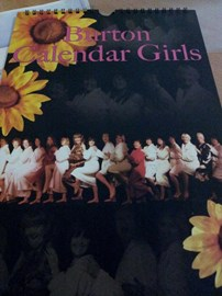 Our 2013 Burton Calendar Girls calendar
