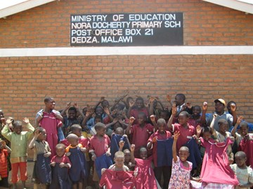 School & Pupils in Malawi