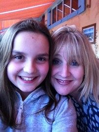 Lauren & her mum Sarah