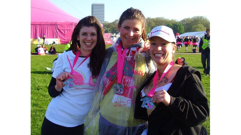 Amanda Dening Is Fundraising For Walk The Walk