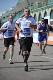 Brighton Marathon - end in sight