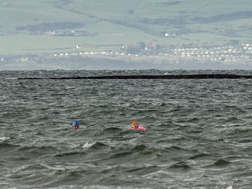 Training in Troon (7 C) over Easter!