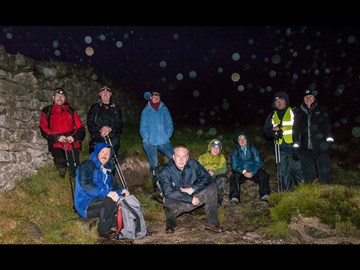 We did it!! What an experience! After the lovely scenery shots the weather came in on us...BIG TIME! So well done all the NI Photo-Walkers who summited Donard midnight  and got back to their tents for 3am