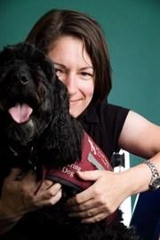 Tina & Hearing Dog Smudge